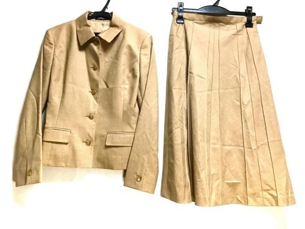 NEW YORKER(ニューヨーカー) スカートスーツ サイズ7 S レディース ライトブラウン
