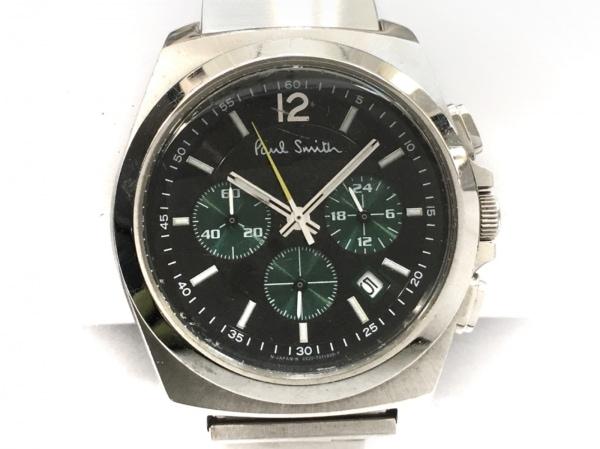 PaulSmith(ポールスミス) 腕時計 0520-T002161Y メンズ クロノグラフ 黒