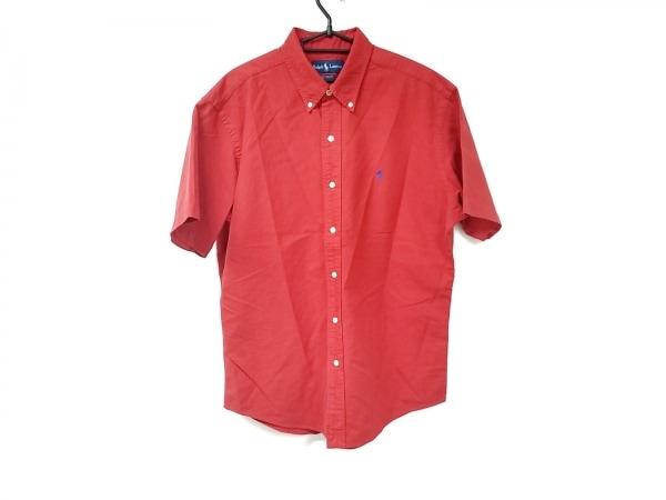 RalphLauren(ラルフローレン) 半袖シャツ サイズLL メンズ美品  - - レッド