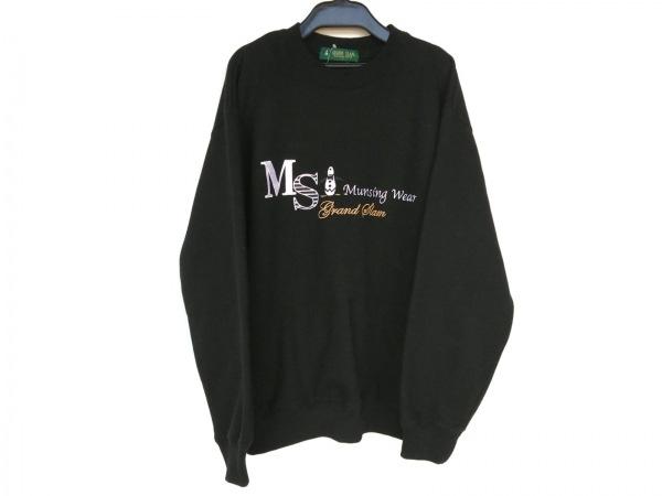 Munsingwear(マンシングウェア) トレーナー サイズL メンズ美品  - - 黒 長袖