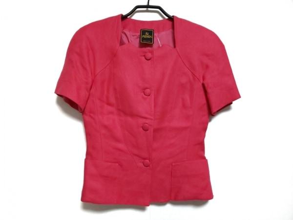 FENDI(フェンディ) ジャケット サイズ40 M レディース ピンク