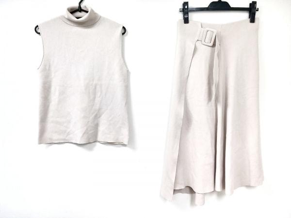 ミラオーウェン スカートセットアップ サイズ1 S レディース美品  ベージュ