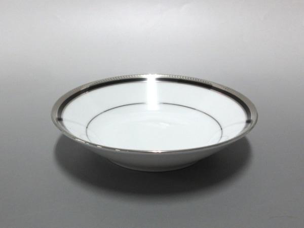 ノリタケ プレート新品同様  白×シルバー×黒 5枚セット 陶器 5