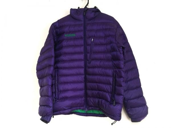 columbia(コロンビア) ダウンジャケット サイズL メンズ パープル 冬物