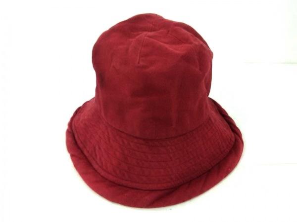 MOSCHINO(モスキーノ) 帽子 ボルドー コットン
