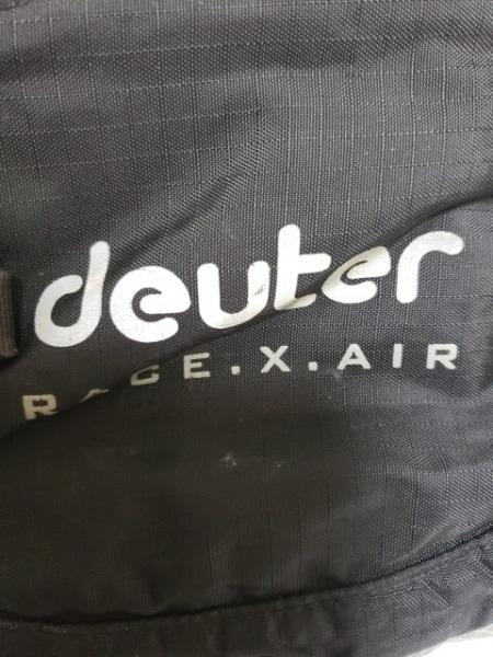 deuter(ドイター) リュックサック 黒×ベージュ ナイロン