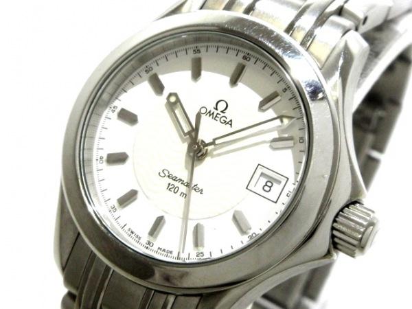 OMEGA(オメガ) 腕時計美品  シーマスター120 2581.21 レディース SS 白