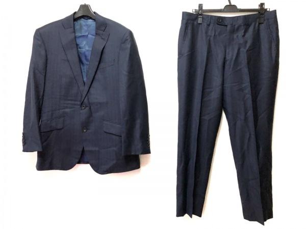 リチャードジェームス シングルスーツ サイズ36S メンズ ダークネイビー×黒