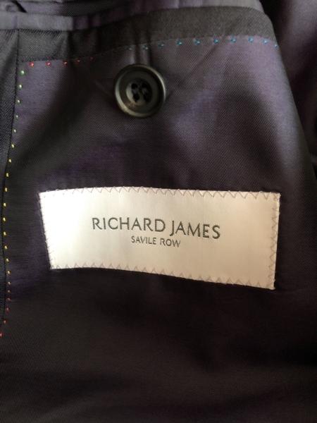 リチャードジェームス シングルスーツ サイズ36S メンズ ダークネイビー
