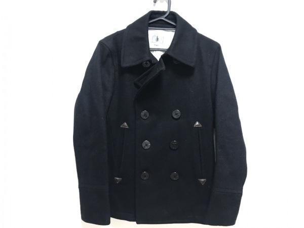 TK (TAKEOKIKUCHI)(ティーケータケオキクチ) Pコート サイズ2 M メンズ美品  黒 冬物