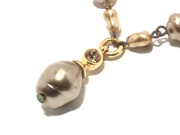 GIVENCHY(ジバンシー) ネックレス フェイクパール×金属素材 ゴールド