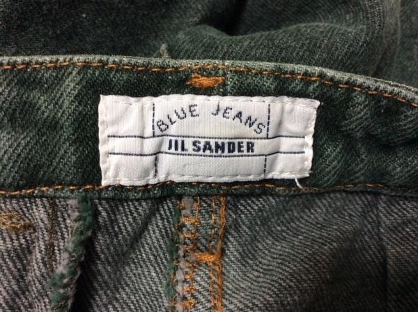 JILSANDER(ジルサンダー) ジーンズ サイズ40 M レディース グリーン