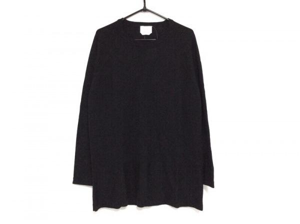 マリナリナルディ 長袖セーター サイズS レディース 黒×ダークグレー
