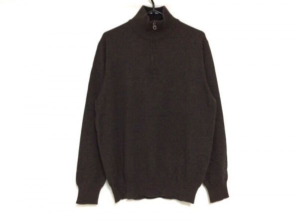 サルバトーレフェラガモ 長袖セーター サイズS レディース ガンチーニ ダークブラウン