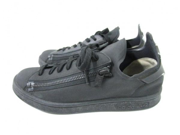 Y-3(ワイスリー) スニーカー レディース 黒 adidas 化学繊維