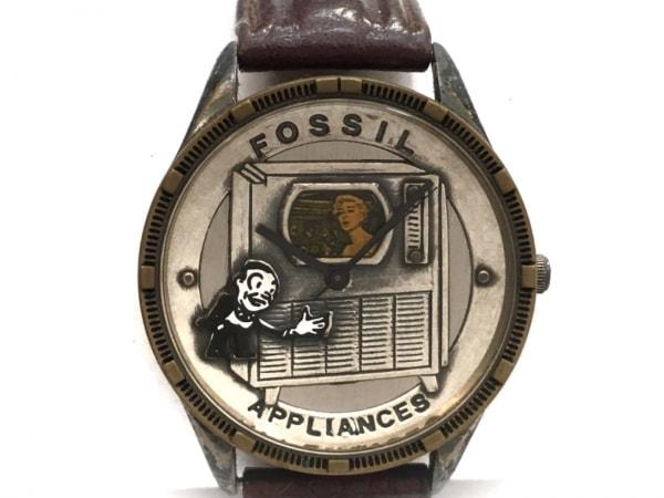 FOSSIL(フォッシル) 腕時計 LE-9450 レディース シルバー