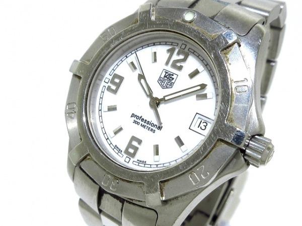 TAG Heuer(タグホイヤー) 腕時計 プロフェッショナル200 WN1111 メンズ 白