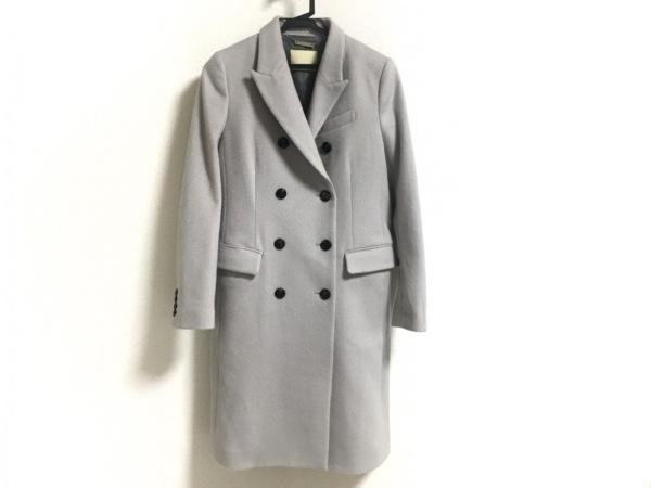 ガリャルダガランテ コート サイズ1 S レディース美品  ライトグレー ロング丈/冬物