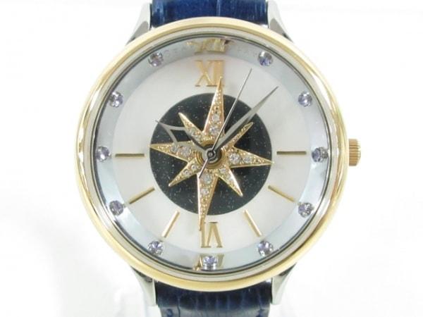 STAR JEWELRY(スタージュエリー) 腕時計美品  - レディース アイボリー