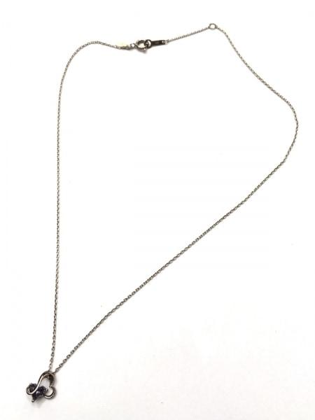 STAR JEWELRY(スタージュエリー) ネックレス美品  シルバー×カラーストーン グリーン