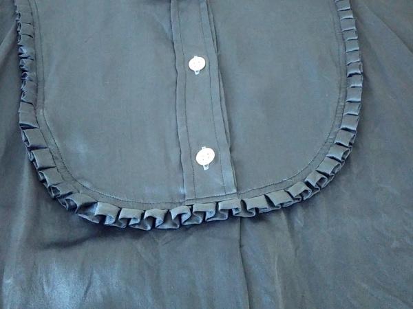 マーガレットハウエル チュニック サイズ3 L レディース ブルー シルク