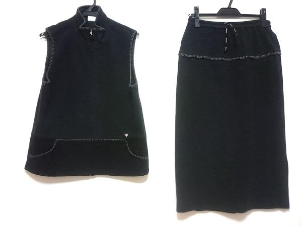 PICONE(ピッコーネ) スカートセットアップ レディース ダークグレー×黒 STUDIO