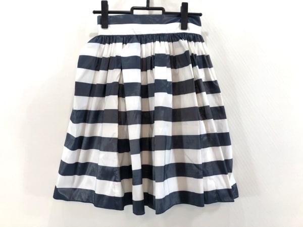 フレイアイディー スカート サイズ1 S レディース美品  ネイビー×白 ボーダー