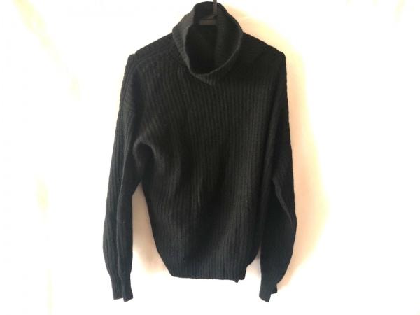 セオリーリュクス 長袖セーター サイズ38 M レディース美品  黒 タートルネック