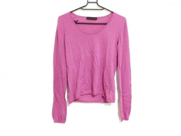 JILSANDER(ジルサンダー) 長袖セーター サイズ36 S レディース美品  ピンク