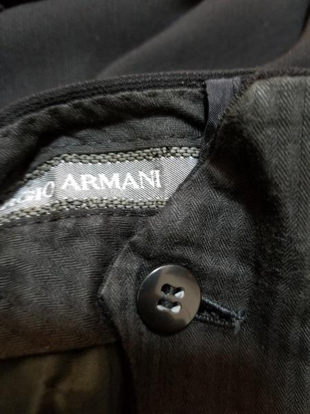 GIORGIOARMANI(ジョルジオアルマーニ) パンツ サイズ52REG メンズ 黒