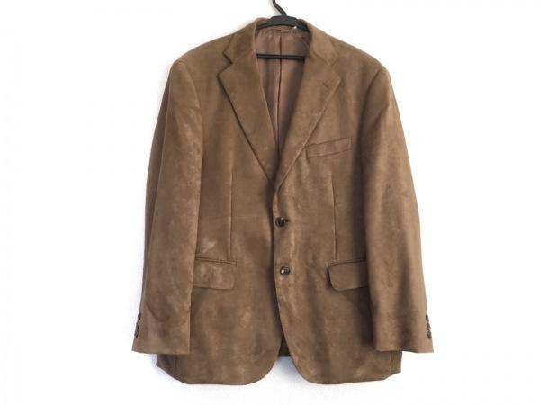 J.PRESS(ジェイプレス) ジャケット サイズB M メンズ ブラウン フェイクスエード
