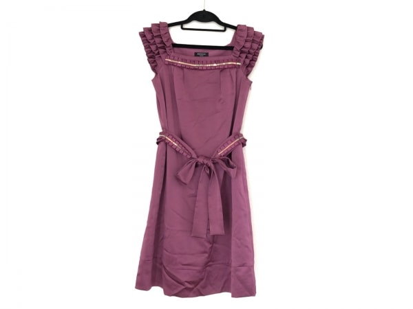 FRAGILE(フラジール) ドレス サイズ36 S レディース美品  ピンク スパンコール