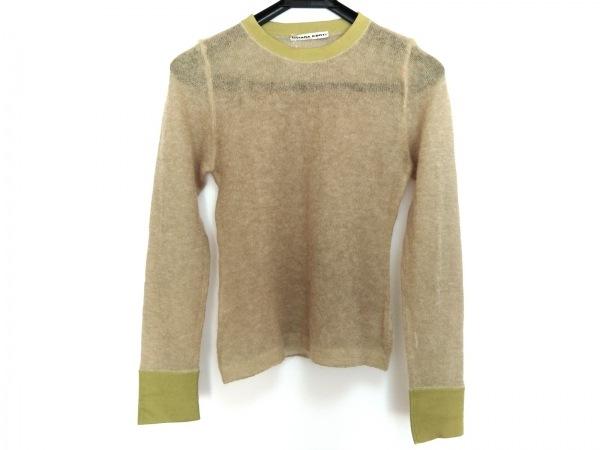 リビアナコンティ 長袖セーター サイズ42 L レディース ライトグリーン
