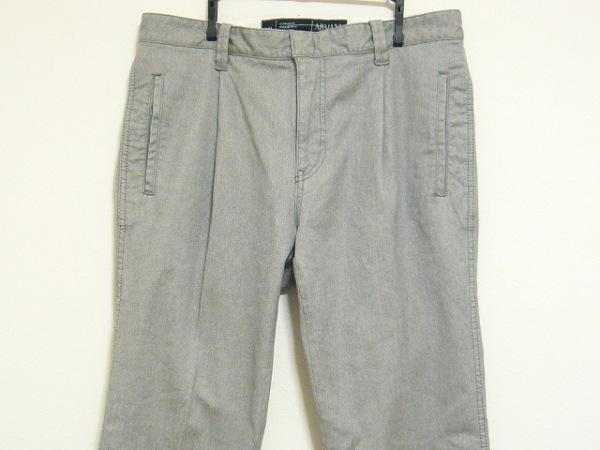 ARMANICOLLEZIONI(アルマーニコレッツォーニ) パンツ サイズ50 M メンズ グレー