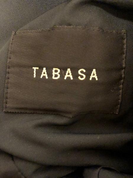 TABASA(タバサ) コート サイズ38 M レディース新品同様  黒 中綿/冬物