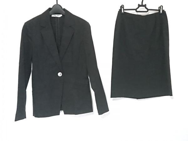 ナチュラルビューティー ベーシック スカートスーツ レディース 黒