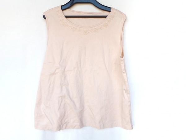 レリアン ノースリーブTシャツ サイズ13 L レディース新品同様  ピンク フラワー