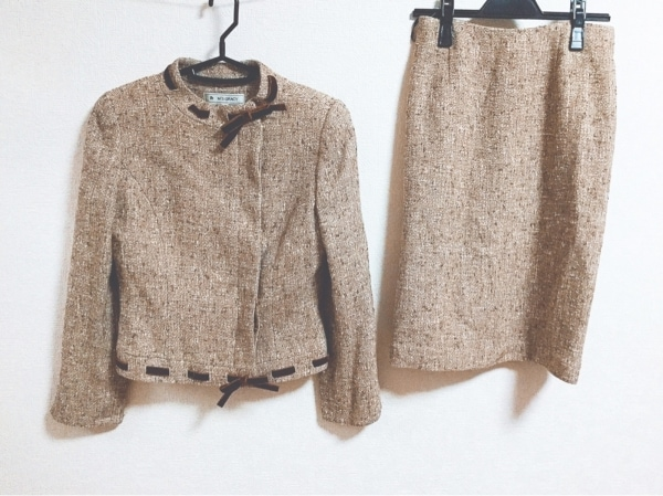 M'S GRACY(エムズグレイシー) スカートスーツ サイズ38 M レディース リボン