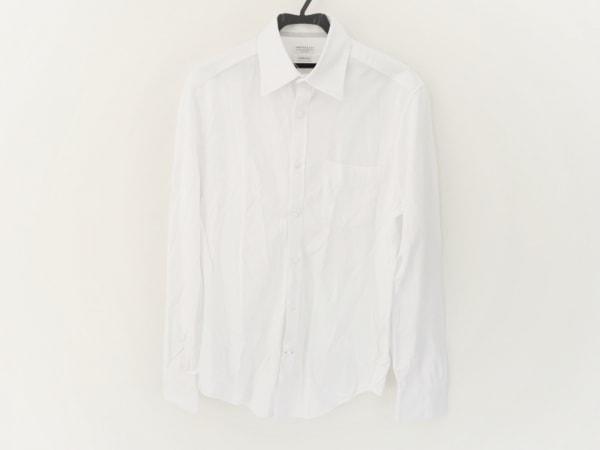 BRUNELLO CUCINELLI(ブルネロクチネリ) 長袖シャツ サイズM メンズ美品  白