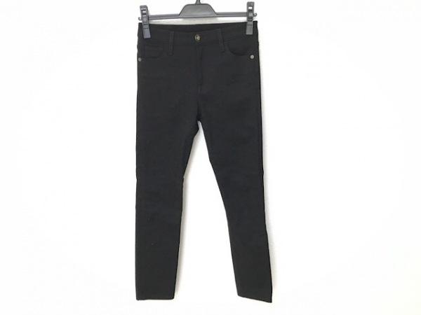 GUCCI(グッチ) パンツ サイズ23 レディース - 446872 黒×レッド×グリーン