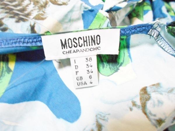 モスキーノ チープ&シック ワンピース サイズ38 S レディース美品  カシュクール/花柄