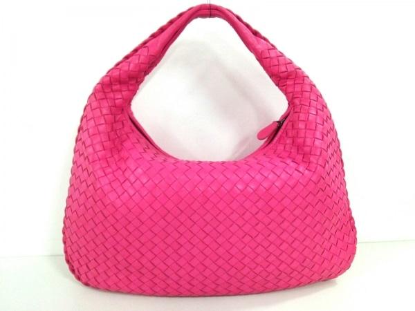 ボッテガヴェネタ ハンドバッグ美品  イントレチャート B00047511F ピンク レザー