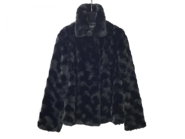M-PREMIER(エムプルミエ) コート サイズ38 M レディース美品  黒 フェイクファー