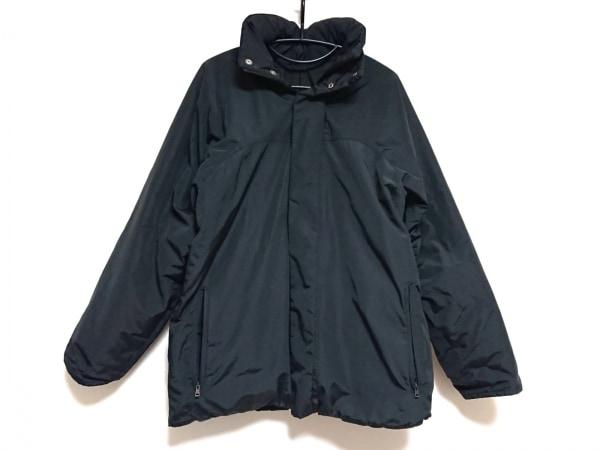 GUCCI(グッチ) ダウンジャケット サイズ46 S メンズ 黒 ジップアップ/冬物