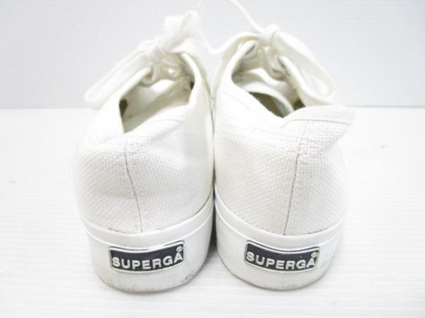 SUPERGA(スペルガ) スニーカー レディース 白 キャンバス