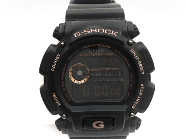 CASIO(カシオ) 腕時計 DW-9052 メンズ 黒