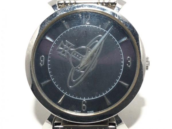 VivienneWestwood(ヴィヴィアン) 腕時計 VW7043 メンズ 黒