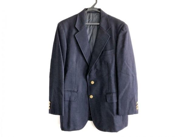 J.PRESS(ジェイプレス) ジャケット メンズ ネイビー 冬物/ネーム刺繍