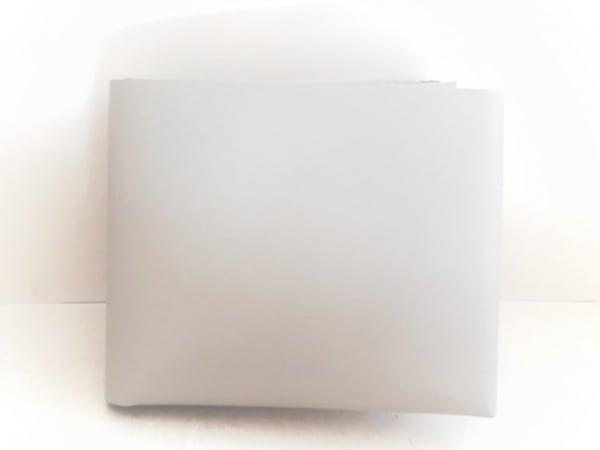 irose(イロセ) 2つ折り財布美品  ライトグレー レザー
