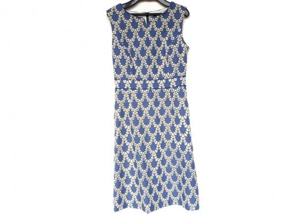 TOCCA(トッカ) ワンピース サイズ0 XS レディース新品同様  ブルー×イエロー 刺繍